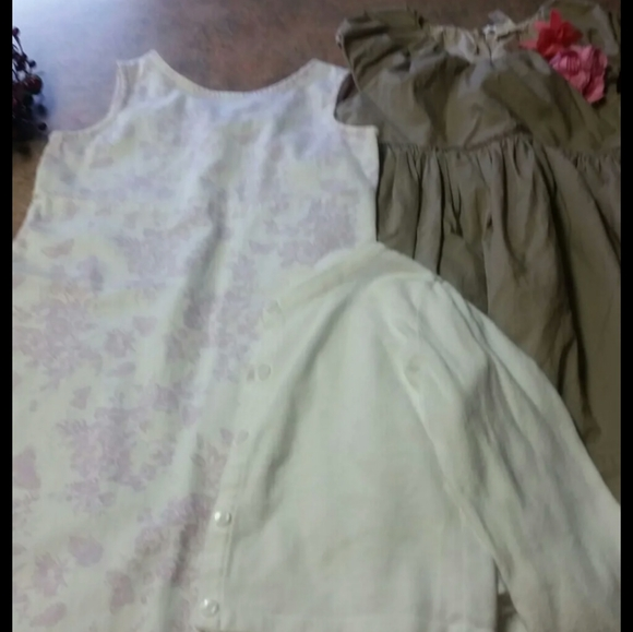 Crewcuts Other - Girls dress and sweater lot